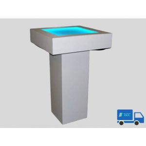 Statafel wit  LEDverlichting bovenblad
