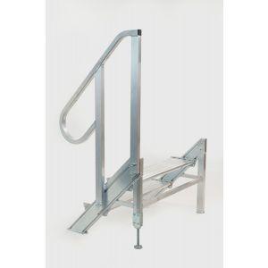 Podiumtrap 40-60 cm Aluminium