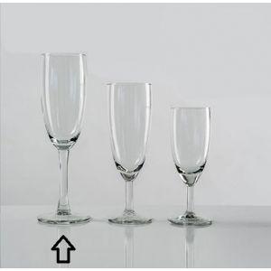 Krat Champagne flutes (17cl) 24 stuks