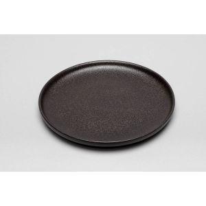 Bordje rond Zwart 18,5 cm