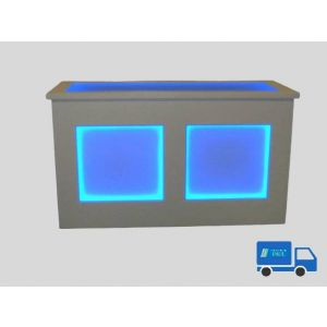 Barbuffet Wit  Led verlichting