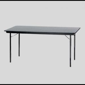 Tafel 160 x 80 cm Grijs/luxe
