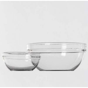 Glazen schaal (16 cm)