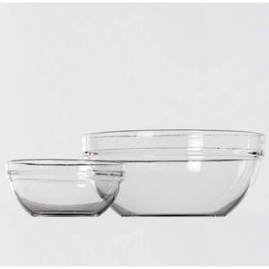 Glazen schaal (23 cm)