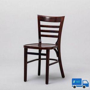 Cafe stoel Donkerbruin