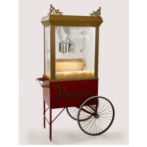 Popcorn wagen groot