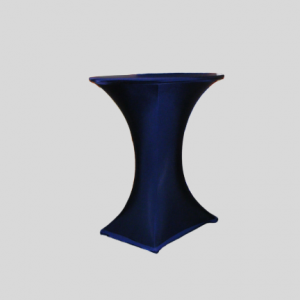 Statafel + Blauwe Stretchhoes + Dekje